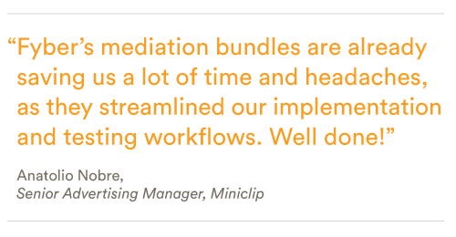 Mediation bundles simplify mobile ad mediation to save time and resources
