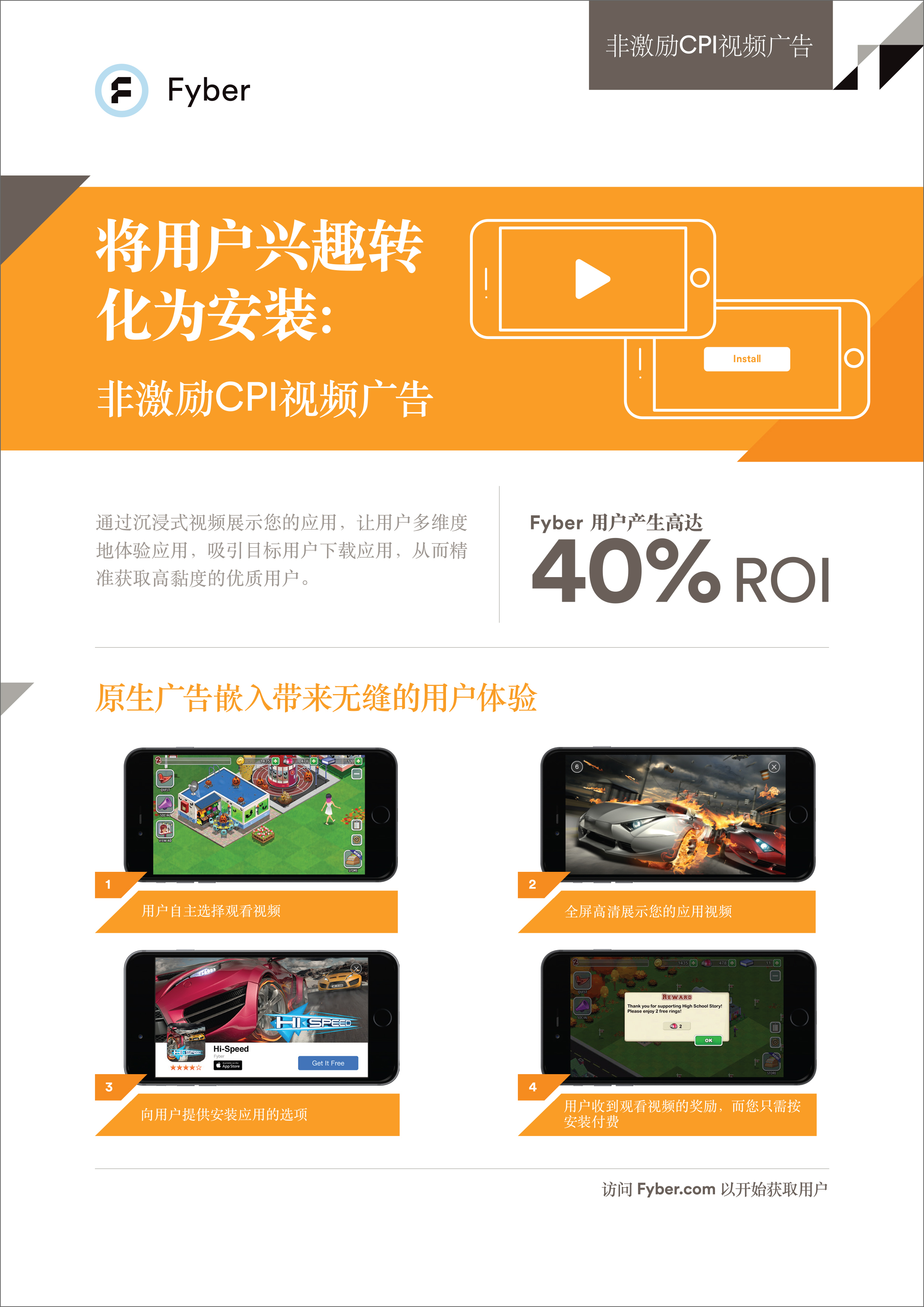 Mobile Video Advertising for CPI in Chinese