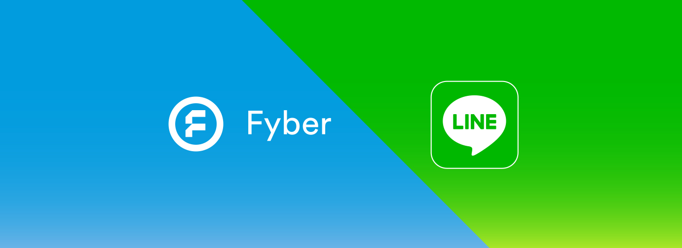 LINE ad monetization platform