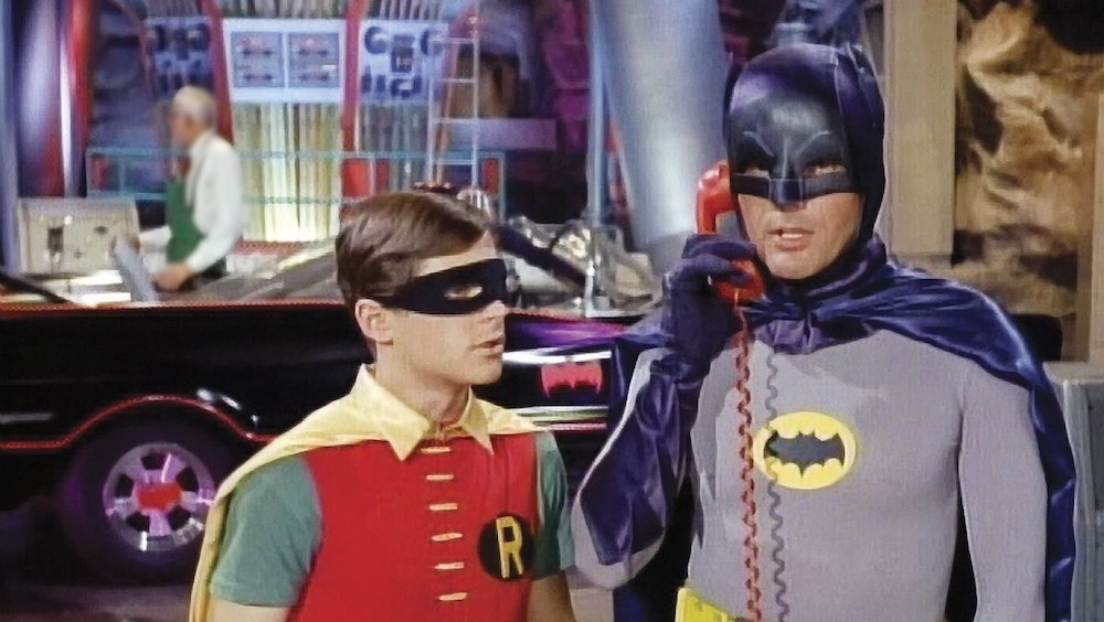 Batman and Robin TV show dynamic duo