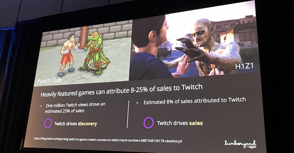 Game Developers Conference GDC 2017 Twitch leads to sales