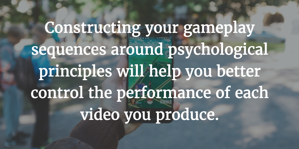 Mobile video ad performance psychological principles