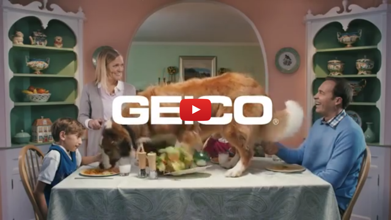 Geico mobile video ad creative length