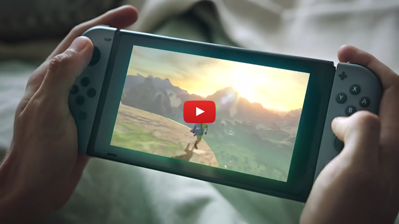 Nintendo Switch Legend of Zelda Breath of the Wild TV spot commercial