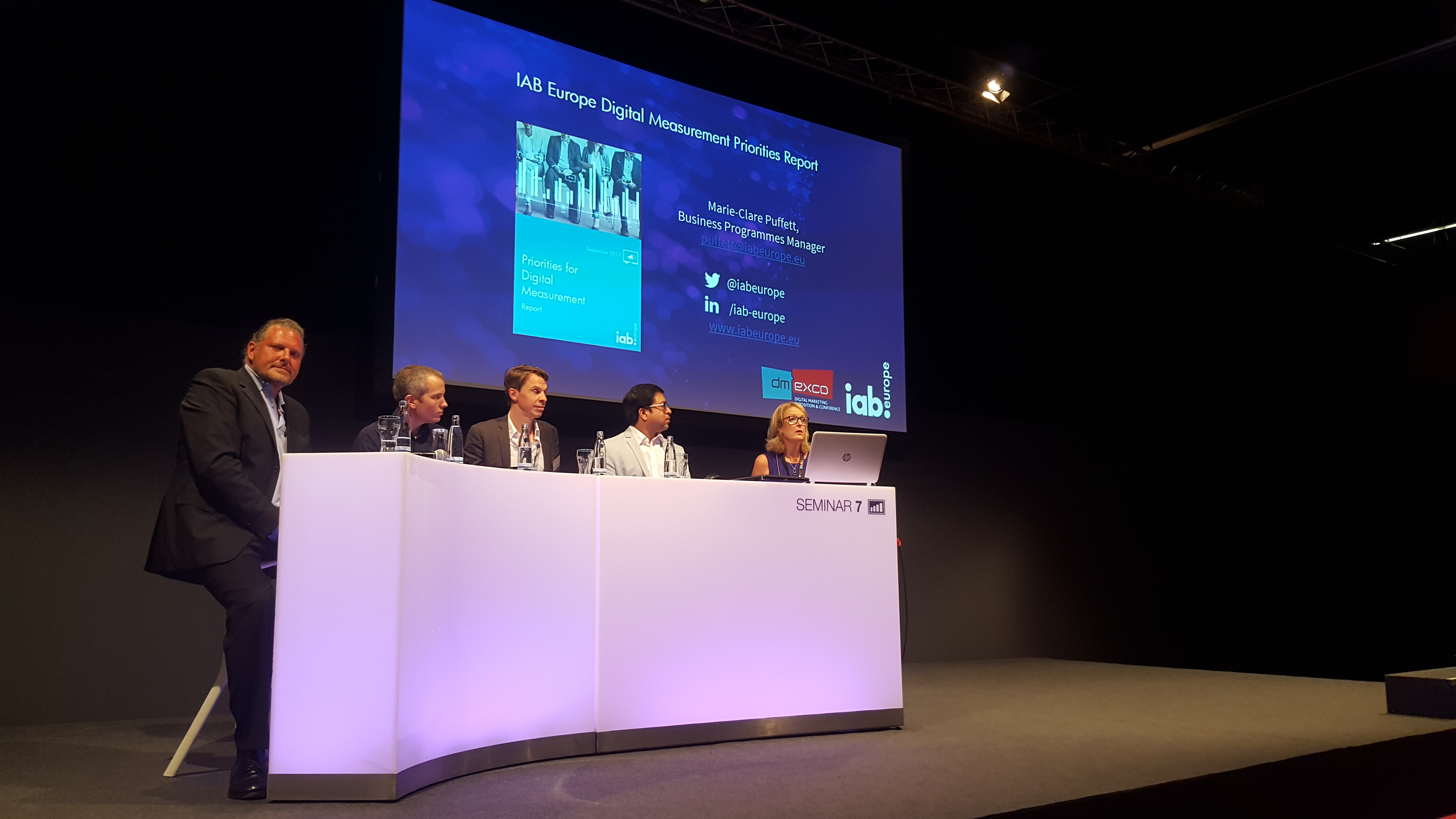 dmexco panel speakers on viewability