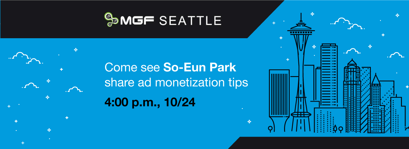 MGF Seattle 2017 mobile game ad monetization tips Fyber So-Eun Park
