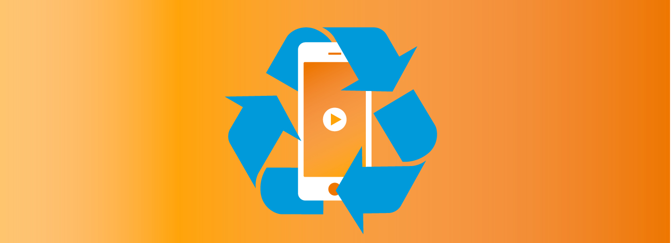 Repurposing mobile video ad creatives