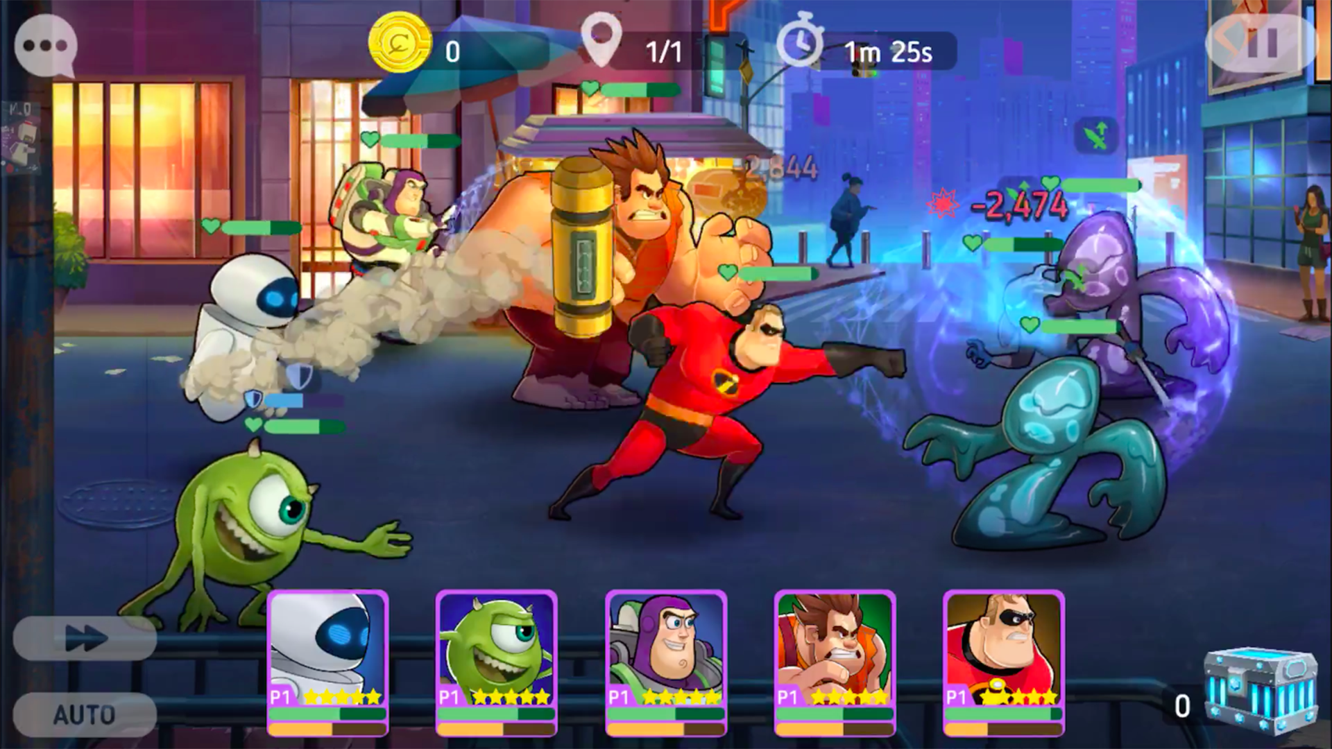 PerBlue Disney Heroes: Battle Mode