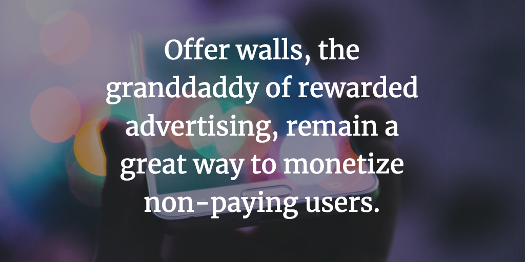 Fyber Blog offer wall rewarded advertising