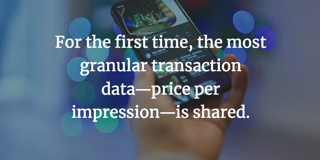 Impression-Level Revenue Data quote
