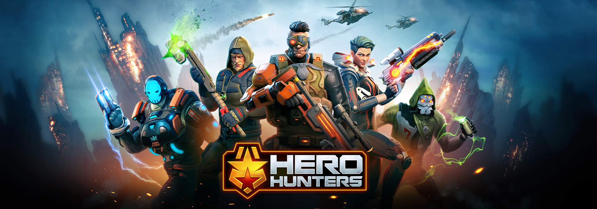 Hothead Games Hero Hunters promotional image